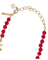 Oscar de la Renta | Red Sea Tangle Necklace | Lyst