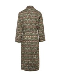 Liberty - Brown Strawberry Thief Long Cotton Robe - Lyst