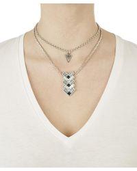 Lulu Frost | Multicolor Lola Deco Blue Pendant Necklace | Lyst