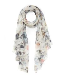Lily and Lionel | Multicolor Alice Floral Silk Scarf | Lyst