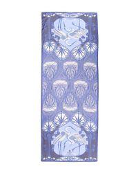 Liberty - Blue Heron 70 X 180 Silk Chiffon Scarf - Lyst