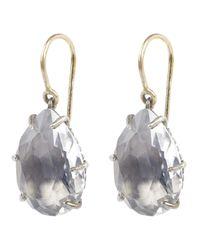 Larkspur & Hawk | Metallic Caterina One Drop Earrings | Lyst