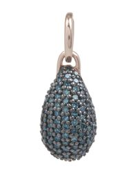 Monica Vinader | Multicolor Rose Gold-plated Blue Diamond Stellar Pendant | Lyst
