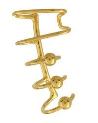 Maria Black - Metallic Gold-plated Orbit Right Ear Cuff - Lyst
