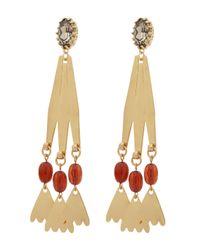 Lulu Frost - Metallic Sierra Swing Earrings - Lyst
