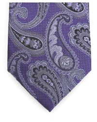 Simon Carter - Purple West End Vintage Paisley Silk Tie for Men - Lyst