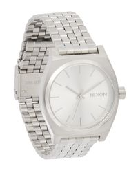 Nixon - Metallic Medium Time Teller Watch - Lyst