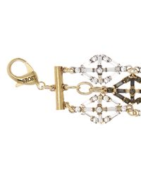 Lulu Frost - Metallic Gloria Geometric Bracelet - Lyst