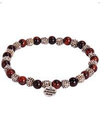 Philippe Audibert - Brown Myly Beaded Bracelet for Men - Lyst