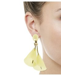 Lele Sadoughi | Yellow Calla Lily Clip-on Earrings | Lyst