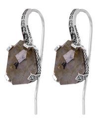 Stephen Dweck - Metallic Silver Galactical Labradorite Drop Earrings - Lyst
