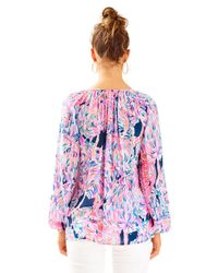 Lilly Pulitzer - Pink Willa Tunic Top - Lyst