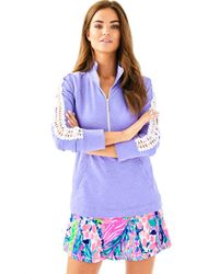 d6b208639c3 Lyst - Lilly Pulitzer Skipper Solid Popover in Purple