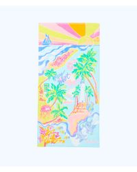 Lilly Pulitzer - Blue Destination Beach Towel - Lyst