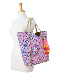 Lilly Pulitzer - Multicolor Pool Tote Bag - Reversible - Lyst
