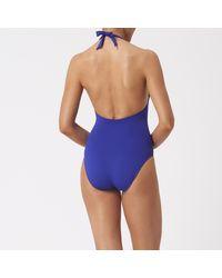 L.K.Bennett - Blue Claud Bathing Suit - Lyst
