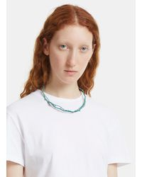 Pearls Before Swine - Thorn Clasp Choker In Green - Lyst