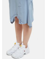 Vetements - Inside Out T-shirt Skirt In Blue - Lyst
