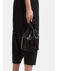 Building Block - Mini Bucket Bag In Black - Lyst