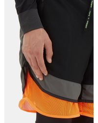 Adidas Originals - Men's Fim Yarn Layered Shorts In Black for Men - Lyst