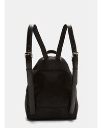 Stella McCartney - Falabella Shaggy Deer Backpack In Black - Lyst