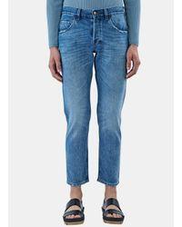 Gucci | Men's Washed Slim Leg Jeans In Blue for Men | Lyst