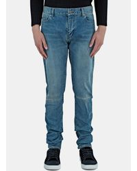Saint Laurent | Blue Slim Fit Jeans for Men | Lyst