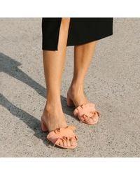Loeffler Randall - Multicolor Vera Ruffle Slide Sandal - Lyst