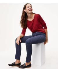 LOFT - Multicolor Petite Modern Skinny Corduroy Pants - Lyst