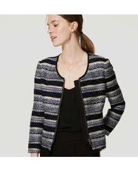 LOFT - Black Siesta Jacket - Lyst