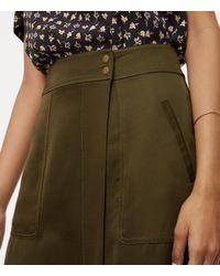 LOFT - Multicolor Petite Pocket Wrap Skirt - Lyst