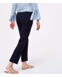 LOFT - Blue Tall Essential Skinny Ankle Pants In Marisa Fit - Lyst