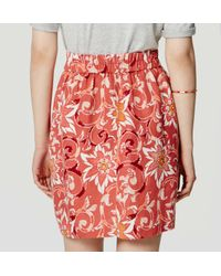 LOFT - Multicolor Tall Fiesta Floral Stroll Skirt - Lyst
