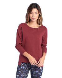 Lolë - Red Samin Top - Lyst