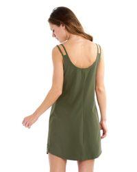 Lolë - Green Cici Dress - Lyst