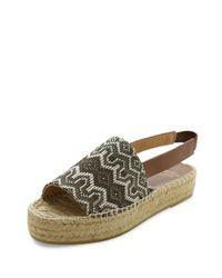 Andre Assous - Brown Sunny Espadrille Platform Sandals - Lyst