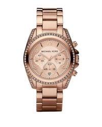 Michael Kors | Multicolor Blair Rose Goldtone Stainless Steel Chronograph Bracelet Watch | Lyst