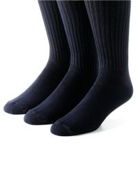 Calvin Klein | Blue Three-pack Socks for Men | Lyst