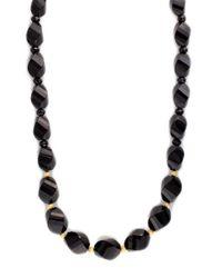 Effy - Black Onyx Necklace In 14k Yellow Gold - Lyst