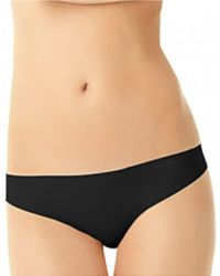 Calvin Klein | Black Invisibles Seamless Thong | Lyst