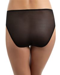 Wacoal | Black Embrace Lace High-cut Brief | Lyst