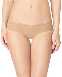 Calvin Klein - Brown Bottoms Up Hipster Panties - Lyst