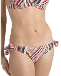 Lucky Brand | Pink Hipster Swim Bottom | Lyst
