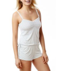 Splendid | White Essential Romper | Lyst