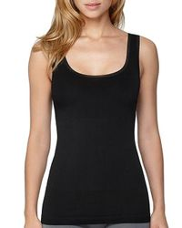 Yummie By Heather Thomson | Black Seamlessly Shaped Comfort Control Helena Two Way Tank Top | Lyst