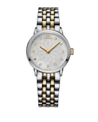 88 Rue Du Rhone | Metallic Ladies Two-tone Watch With Mother Of Pearl Rosette Dial | Lyst