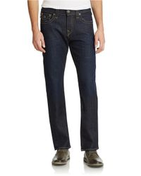 True Religion | Blue Ricky Straight-leg Jeans for Men | Lyst