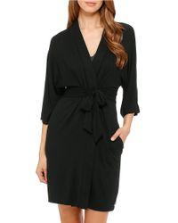 DKNY | Black Plus Urban Essentials Robe | Lyst
