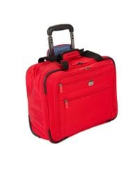 Delsey - Red Helium Sky 2.0 Trolley Carry On Tote Bag - Lyst