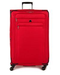 Delsey | Red Helium Sky 2.0 2-wheel Spinner Trolley Bag-29 In. | Lyst